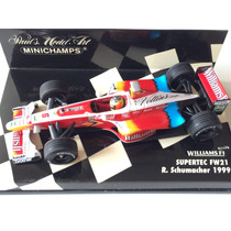 Minichamps 1/43 Williams Fw21 Ralf Schumacher F1 1999 Senna