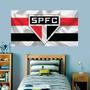 Painel Adesivo De Parede São Paulo Futebol Tamanho 90x50cm Original