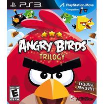 Angry Birds Trilogy Ps3 Envio Imediato