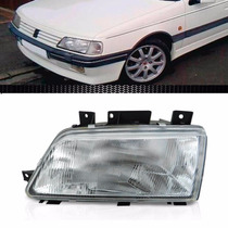 Farol Peugeot 405 1994/1997 Foco Simples