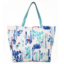 75ca6d995 Bolsa Sacola Shopper Estampada Floral Praia Piscina Grande