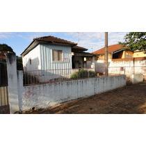 Terreno Com Casa De Madeira - 11 X 27,5