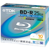 Mídia Blu-ray Bd R 25gb Tdk Printable Pode Retirar Sp