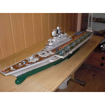 Projeto Papercraft Do Porta-aviões Russo Novorossiysk 1:200