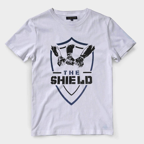d994676a7 Camiseta The Shield Wwe Masculina Wrestling Blusa Camisa
