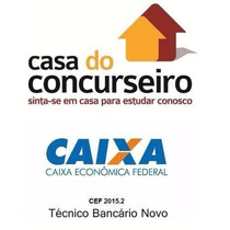 Caixa Economica Federal Cef 2015/2016 Casa Completo