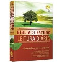 Bíblia De Estudo Leitura Diária + Livro Grátis