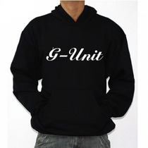 Casaco Moletom Hoodie Hiphop 50 Cent G-unit - Bolso E Touca