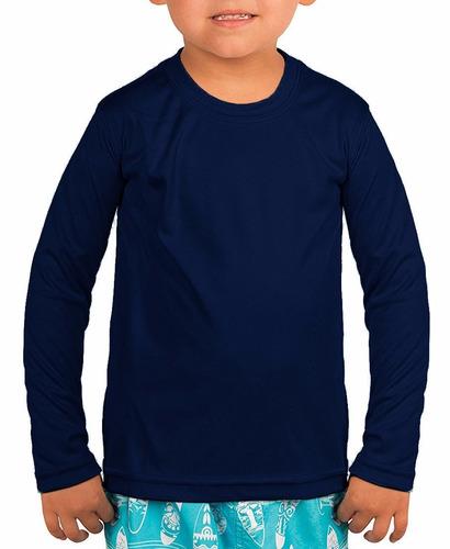 d99a329368 Kit 10 Camisa Infantil Térmica Segunda Peleproteção Uv
