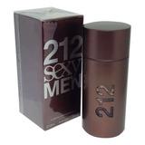 Perfume 212 Sexy Men Edt. 100ml - 100% Original + Amostra.