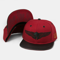 Boné Aba Reta Snapback Hawk Vermelho Original Few Caps