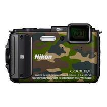 Câmera Digital Nikon Coolpix Aw130 16mp - 30m