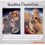 Quadro Tela Paisagens Abstrato Imagens Diversas 50x40 L