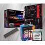 Kit I7 7700  Kaby Lake   7ª Ger   Ga h270m gaming 3  4gb Mem