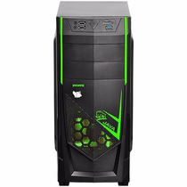 Gabinete Gamer Pcyes Java 2x Fan Usb 3.0 Leitor Cartao+ Nf