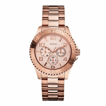 Relógio Guess Ladies Bff Rosê W0231l4 Novo Original