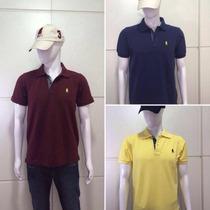Camisa Camiseta Polo Masculina Envio Imediato