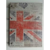 Caderno Argolado G London Londres Inglaterra 1 Matéria