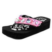 Hello Kitty Synthetic Tilly Juventude Wedge Sandal