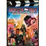 Dvd Monster High - Monstros, Câmera, Ação (semi Novo)