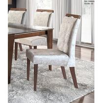 Cadeira Para Mesa De Jantar Galle Kit C/2 - Móveis Rafana