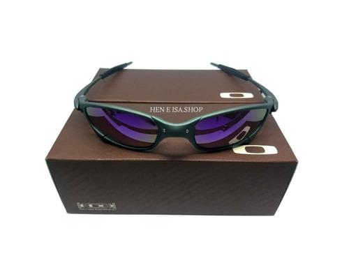 45717e052 Oculos Oakley Juliet X-metal Roxa + Caixa + Saquinho