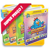 Box Galinha Pintadinha 6 Dvds C/ Caixinha - Posto Ja!