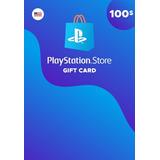 Playstation Giftcard Psn Contas Americana$100 Envio Imediato