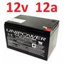 Bateria Selada 12v 12a Up12120 Nobreak 12 12ah Unipower *