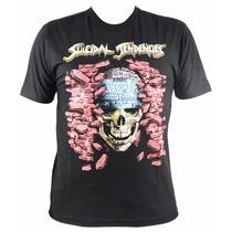 Camiseta, Manga Curta, Rock, Suicidal Tendencies Co-e976