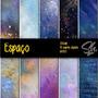Papel Digital Scrapbook Imagens Sh005 - Espaço Universo