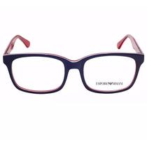 Óculos Empório Armani Armação De Acetato P/ Grau Importado
