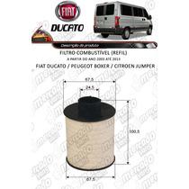 Filtro Combustível (refil) Fiat Ducato #retire Somos Loja