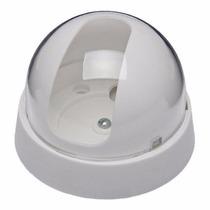 Caixa Com 4 - Dome Branco Cristal Para Micro Cameras