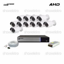 Kits De Monitoramento Ahd Luxvision 11 Câmeras Infra Ahd P2p