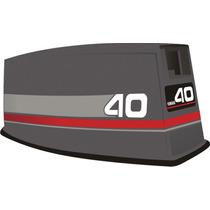 Adesivo Motor De Popa Yamaha 40 Hp 93/97