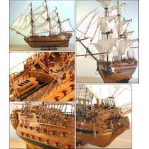 Barco Modelo Navio Superbe 1784 Fr -modelo De Alta Qualidade