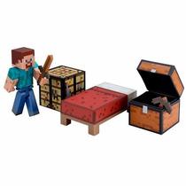 Minecraft Survival Pack Multikids 7cm Articul.+ Frete Grátis