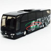 Miniatura De Ônibus Mercedes Benz Travego Preto 1:60 Welly