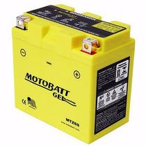 Bateria Gel Motobatt 6,0ah Honda Xre300 Cg150 Titan Ex Mix