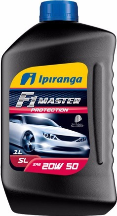 Óleo Motor Mineral 20w50 1 Litro Api Sl Ipiranga F1 Master