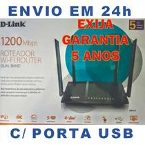Dir-815 Usb 1200mbps Dual Band Sem Fio 4 Antenas Não Dir-822