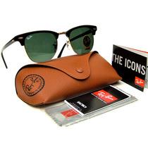 Oculos De Sol Ray Ban Clubmaster 3016- Grantia Em Até 12x