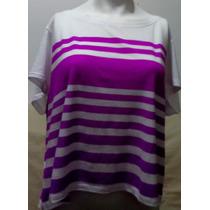 Camiseta Feminina Aeropostale Lilas Mod. 5881 Original Usa