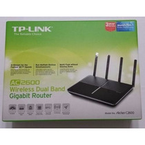 Roteador Tplink Archer C2600 Wireless Dual Band Ac2600 Mbps