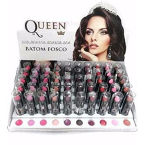 Batom Queen Make Up - Fosco Caixa Fechada Com 50 Unidades
