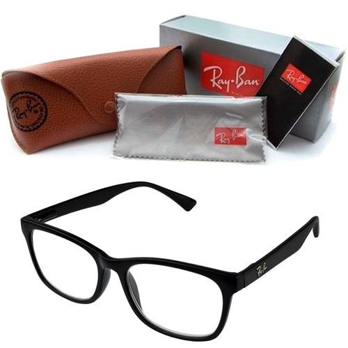 6a9fa9bf4b3f5 Armação Grau Óculos Feminino Masculino Promoção Rayban 5115. R  48.49