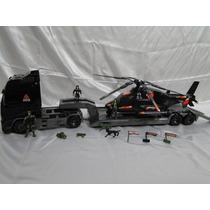 Kit Comando Blindado Caminhão Helicoptero Tatico Exercito