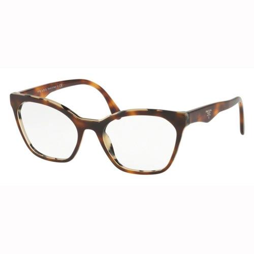 Armação Óculos De Grau Feminino Prada Vpr09u Th8-101 795f733527