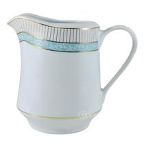 Leiteira Audrey Schmidt Porcelana Azul 1,5l